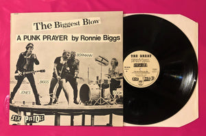 "Sex Pistols - Biggest Blow / My Way 12"" With Interview Virgin Records 1978"