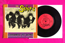 "Load image into Gallery viewer, The Stiffs - Goodbye My Love 7"" Single From 1981 on Stiff Records"
