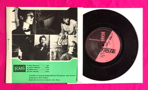 "Scars - Horrorshow / Adult/ery Post Punk 7"" on Fast Records From 1979"