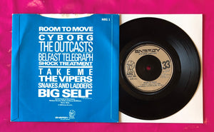 Room to Move Compilation E.P. - Outcasts + 3 Others Energy Records 1980