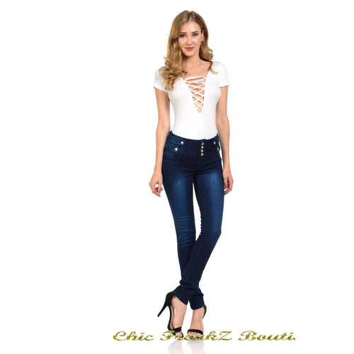 Womens M.Michel Jeans Push-Up - N3407 - Womens Clothing