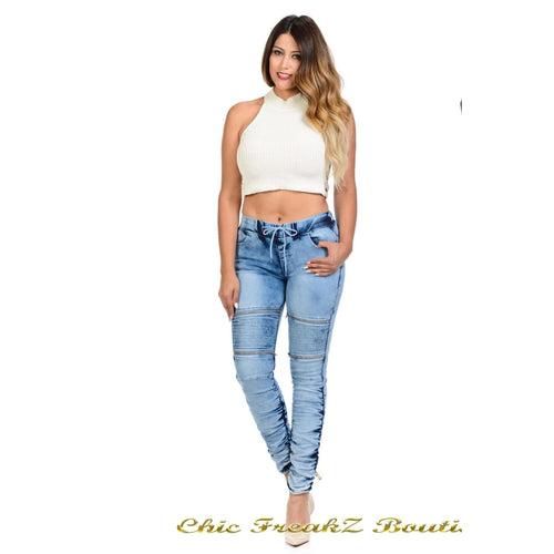 Womens M.Michel Jeans Push-Up - N3481 - Womens Jeans