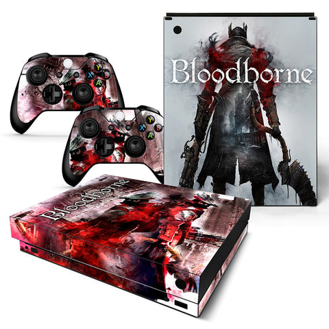 Actionfiguresale Bloodborne Vinyl Skin Sticker Protector for Xbox One X