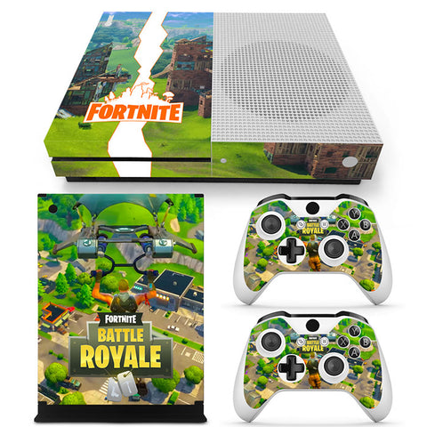 Actionfiguresale Fortnite Vinyl Skin Sticker Protector for Xbox One S