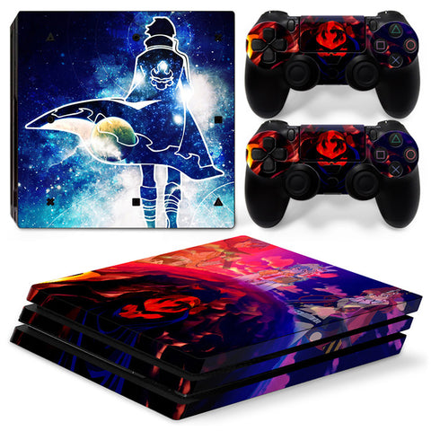 Actionfiguresale Naruto For PS4 Pro Skin Sticker Cover For PS4 Playstation 4
