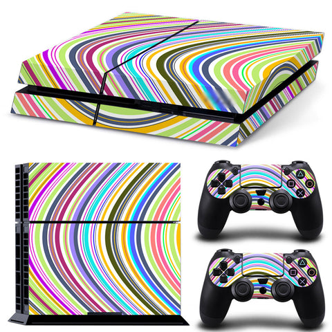 Actionfiguresale Geometric Figure For PS4 Vinyl Skin Sticker Cover For PS4 Playstatio 4
