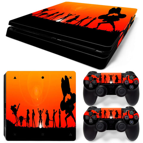 Actionfiguresale One Piece  For PS4 Slim Skin Sticker Vinyl Cover