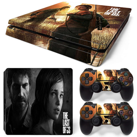 the last of us For PS4 Slim Skin Sticker Vinyl Cover