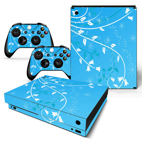 Actionfiguresale Decorative Pattern Vinyl Skin Sticker Protector for Xbox One X