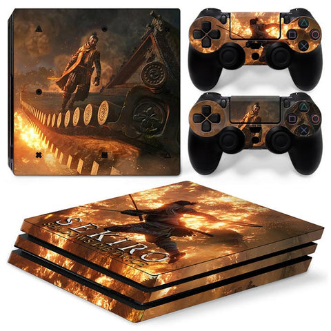 SEKIRO SHADOWS DIE TWICE For PS4 Pro Skin Sticker Cover For PS4 Playstation 4