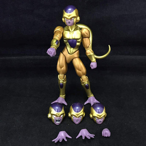 Actionfiguresale 11.5cm Dragon Ball Z Golden Frieza joint Action Figure Toys