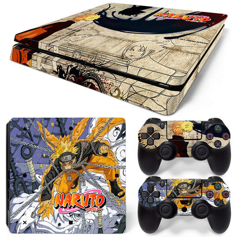 Actionfiguresale Naruto For PS4 Slim Skin Sticker Vinyl Cover