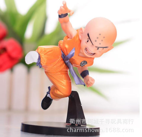 Actionfiguresale 11cm Dragon Ball Z Kuririn Anime Action Figure Toys