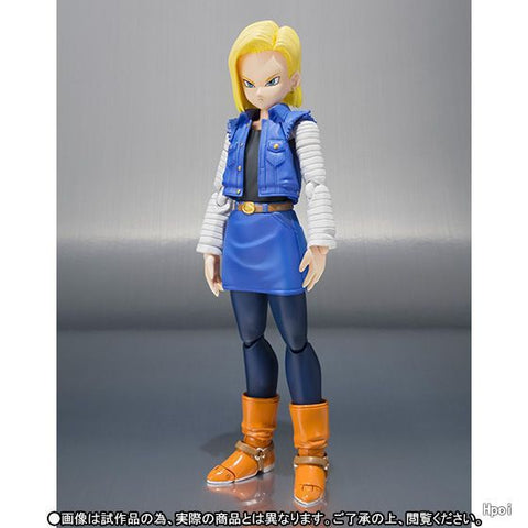 Actionfiguresale 13cm Dragon Ball Z Android 18 Lazuli Anime Action Figure Toys