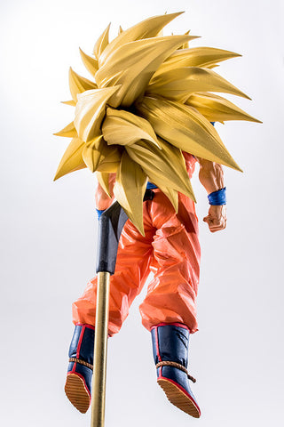Actionfiguresale 15cm Dragon Ball Z Super Saiyan 3 Son Goku Figure Toys
