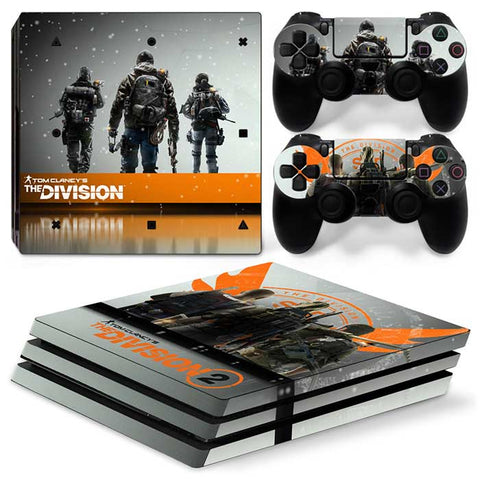 Tom Clancy's The Division2 For PS4 Pro Skin Sticker Cover For PS4 Playstation 4