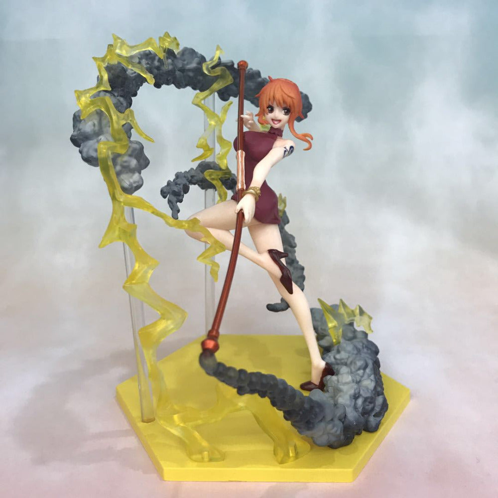 Actionfiguresale 16cm One piece nami fighting Action Figure Toys