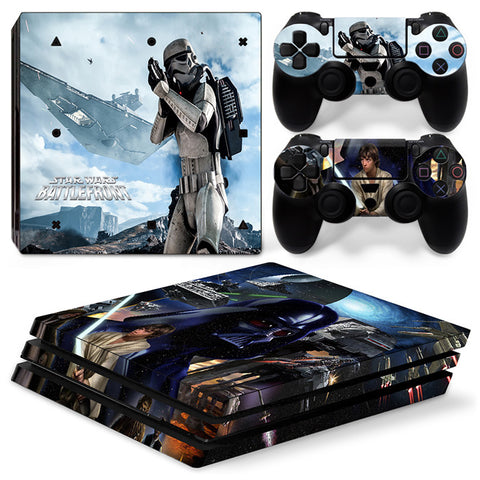 Actionfiguresale Star Wars For PS4 Pro Skin Sticker Cover For PS4 Playstation 4
