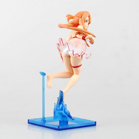 Actionfiguresale 17CM Sword Art Online Asuna swimsuit water Figure Toys