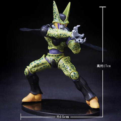 Actionfiguresale 17cm Dragon Ball Z Cell Action Figure Toys