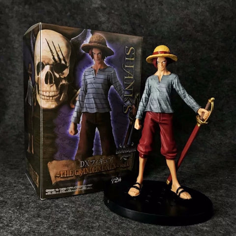 Actionfiguresale 17cm One piece Shanks Young Figure Toys