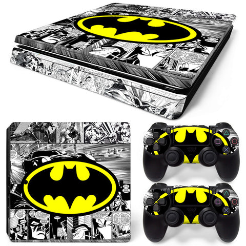 Batman For PS4 Slim Skin Sticker Vinyl Cover
