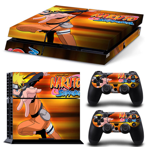 Naruto For PS4 Vinyl Skin Sticker Cover For PS4 Playstatio 4