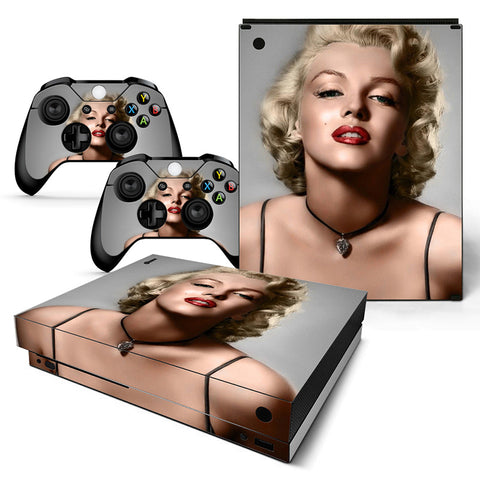 Actionfiguresale Sexy Vinyl Skin Sticker Protector for Xbox One X