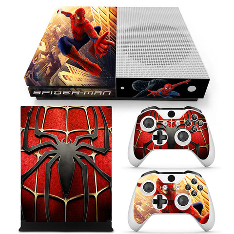 Actionfiguresale Spider Man Vinyl Skin Sticker Protector for Microsoft Xbox One SLIM