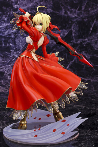 Actionfiguresale 23cm Fate Stay Night Red Saber Action Figures Toys