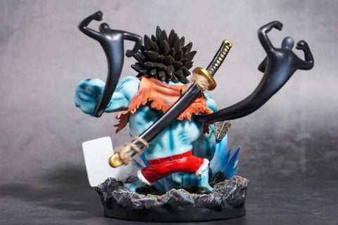 Actionfiguresale 23cm One Piece Luffy Blue Variety Figure Toys