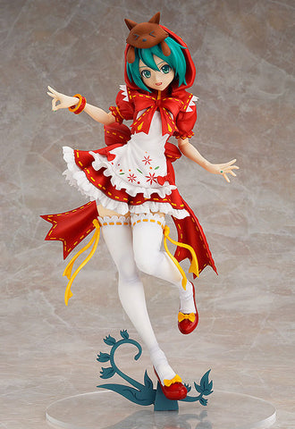 Actionfiguresale 23cm Red Hat Hatsune Miku Anime FigureToys
