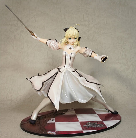 Actionfiguresale 23cm Sexy Fate/stay Night Sable Lily Action Figures Toys