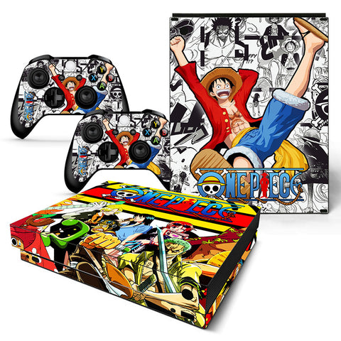 Actionfiguresale One Piece Vinyl Skin Sticker Protector for Xbox One X