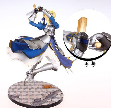Actionfiguresale 25cm Fate Stay Night Saber Lily Excalibur Action Figures Toys