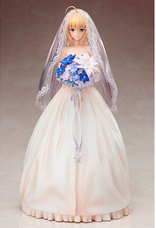 Actionfiguresale 25cm Fate/stay night Wedding Figures Toys