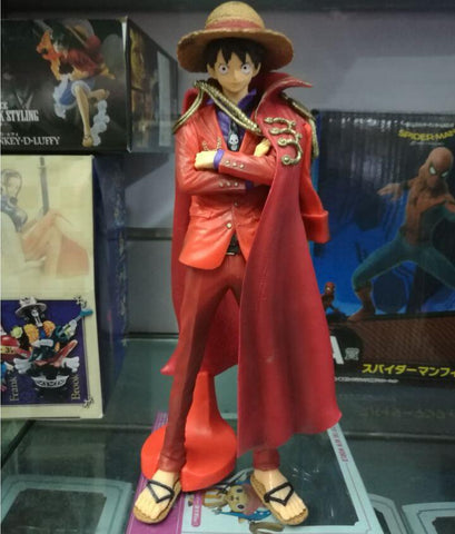 Actionfiguresale 25cm One Piece Red Luffy 20th Figure Toys
