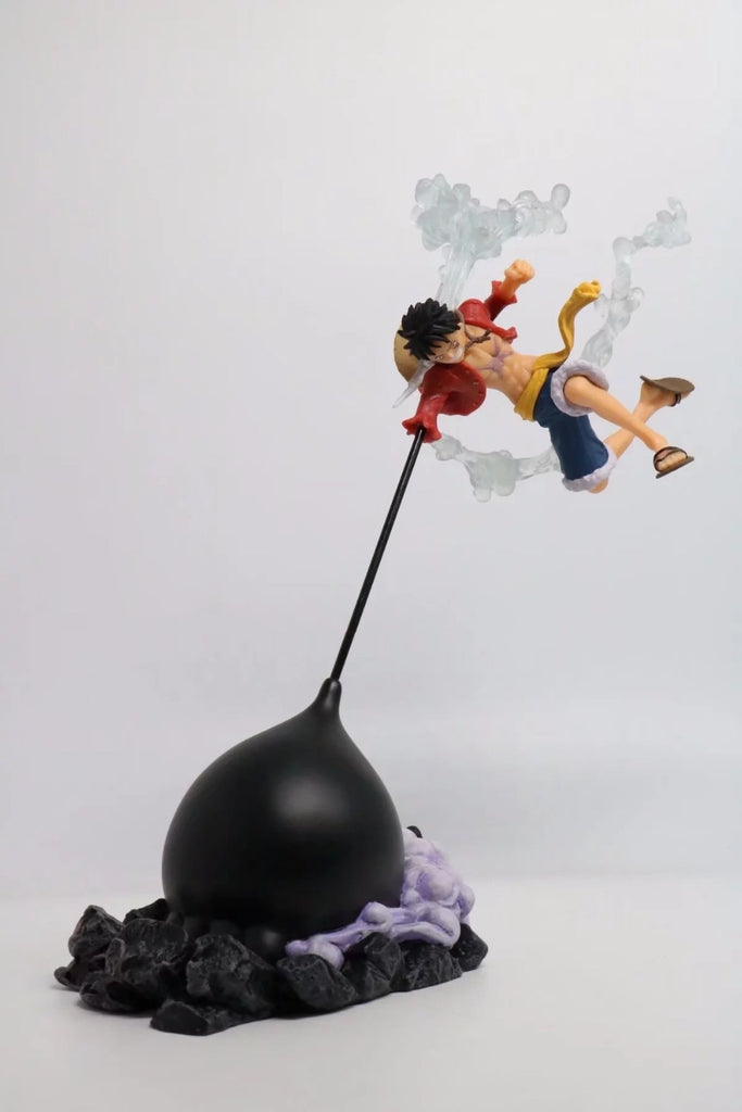 Actionfiguresale 26cm One piece Luffy gear 3 Anime Action Figure Toys