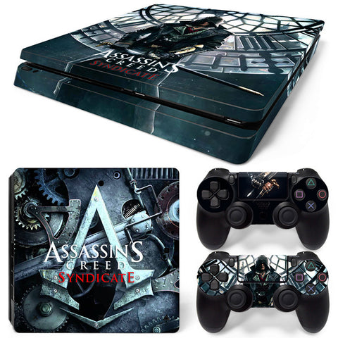 Assassin's creed For PS4 Slim Skin Sticker Vinyl Cover