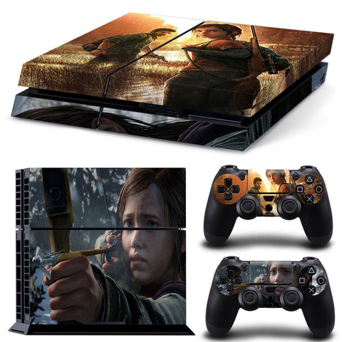 The Last Of US For PS4 Vinyl Skin Sticker Cover For PS4 Playstatio 4