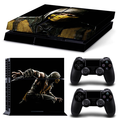 Actionfiguresale Mortal Komabat For PS4 Vinyl Skin Sticker Cover For PS4 Playstatio 4