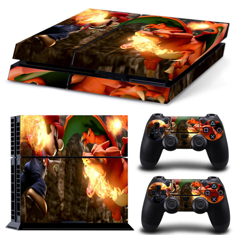 Actionfiguresale Super Mario For PS4 Vinyl Skin Sticker Cover For PS4 Playstatio 4