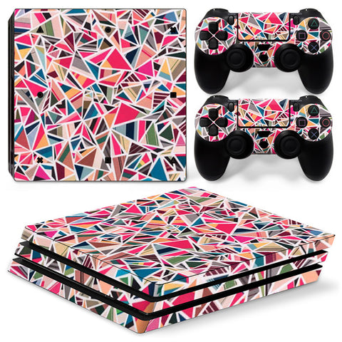 Actionfiguresale Geometric Figure For PS4 Pro Skin Sticker Cover For PS4 Playstation 4
