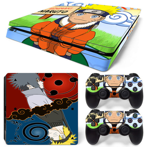 Naruto For PS4 Slim Skin Sticker Vinyl Cover