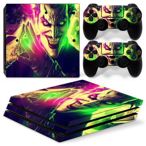 Actionfiguresale The Joker For PS4 Pro Skin Sticker Cover For PS4 Playstation 4