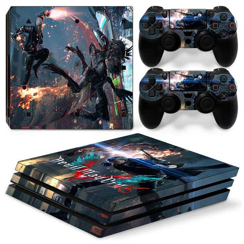 Devil may cry 5 For PS4 Pro Skin Sticker Cover For PS4 Playstation 4