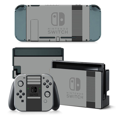 Nintend Switch Vinyl Skins Sticker For Nintendo Switch Console and Controller Skin Set - For Pure Color
