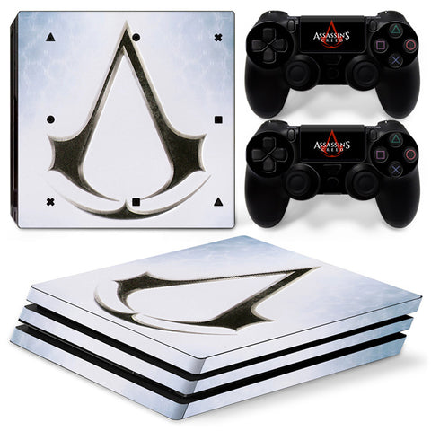 Assassin's Creed For PS4 Pro Skin Sticker Cover