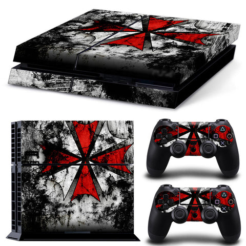 Actionfiguresale Resident Evil For PS4 Vinyl Skin Sticker Cover For PS4 Playstatio 4