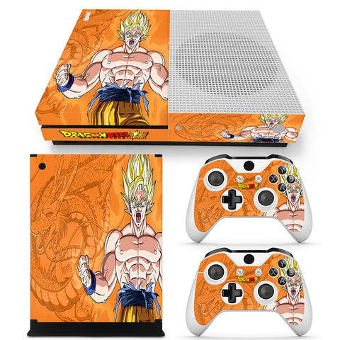 Actionfiguresale Dragonball Vinyl Skin Sticker Protector for Xbox One S